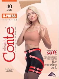 X-Press soft 40 alakformáló harisnya