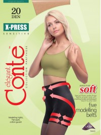 X-Press soft 20 alakformáló harisnya